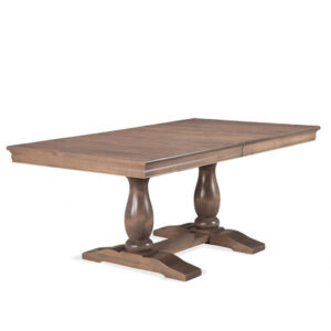 handstone furniture, canadian made furniture, custom furniture, custom dining table, solid wood dining table, monticello trestle table