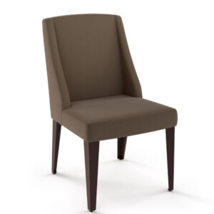 made in canada bridget dining chair with wing back design