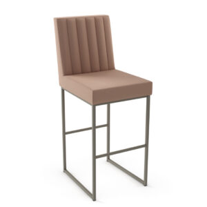 amisco industries, metal furniture, made in canada, custom furniture, bar stool, counter stool, swivel stool, island stool, custom fabric, darcy stool