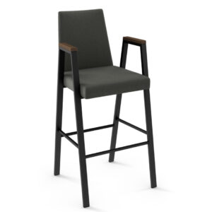 amisco industries, metal furniture, made in canada, custom furniture, bar stool, counter stool, swivel stool, island stool, custom fabric, edison stool