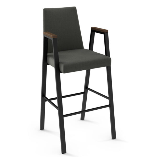 amisco industries, metal furniture, made in canada, custom furniture, bar stool, counter stool, swivel stool, island stool, custom fabric, edison stool