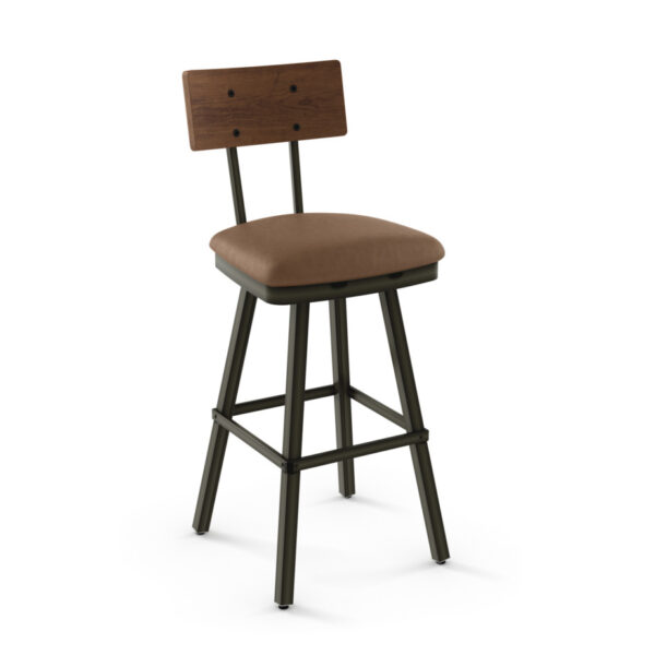 amisco industries, metal furniture, made in canada, custom furniture, bar stool, counter stool, swivel stool, island stool, custom fabric, jetson stool
