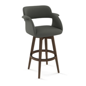 amisco industries, metal furniture, made in canada, custom furniture, bar stool, counter stool, swivel stool, island stool, custom fabric, joshua stool