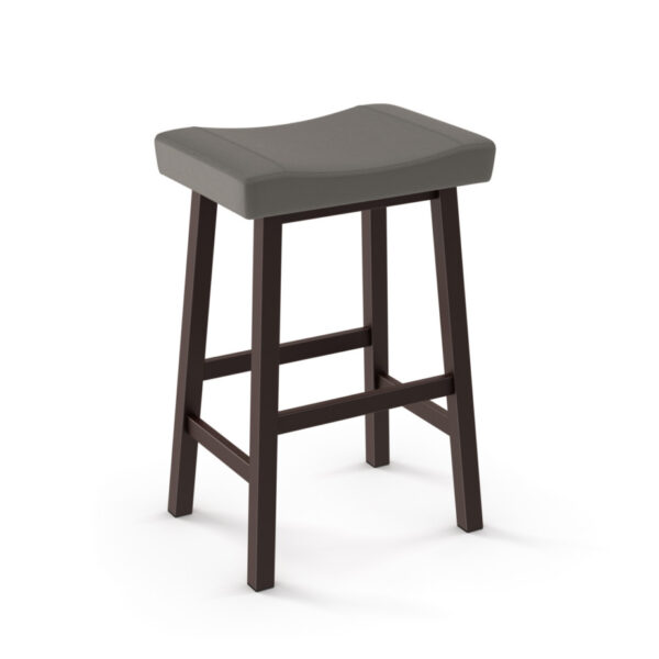 miller stool, amisco industries, metal furniture, made in canada, custom furniture, bar stool, counter stool, swivel stool, island stool, custom fabric