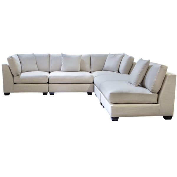edmonton furniture store, edmonton furniture stores, furniture on salemade in canada, sectional, custom sectional, custom sofa, fabric sofa, canadian made sectional, feather seating, feather wrapped seats, feather wrapped sofa, down filled, modular sectional