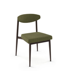 Wilbur Dining Chair, amisco, upholstered chair, custom dining chair, made in canada, metal dining chair