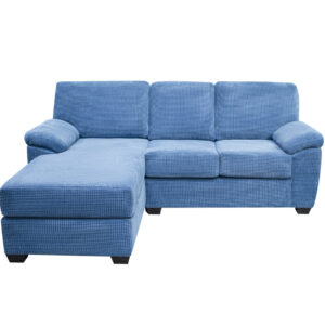 custom sofa, sofa with chaise, made in canada, elite sofa designs, canadian made furniture, austin sofa with chaise