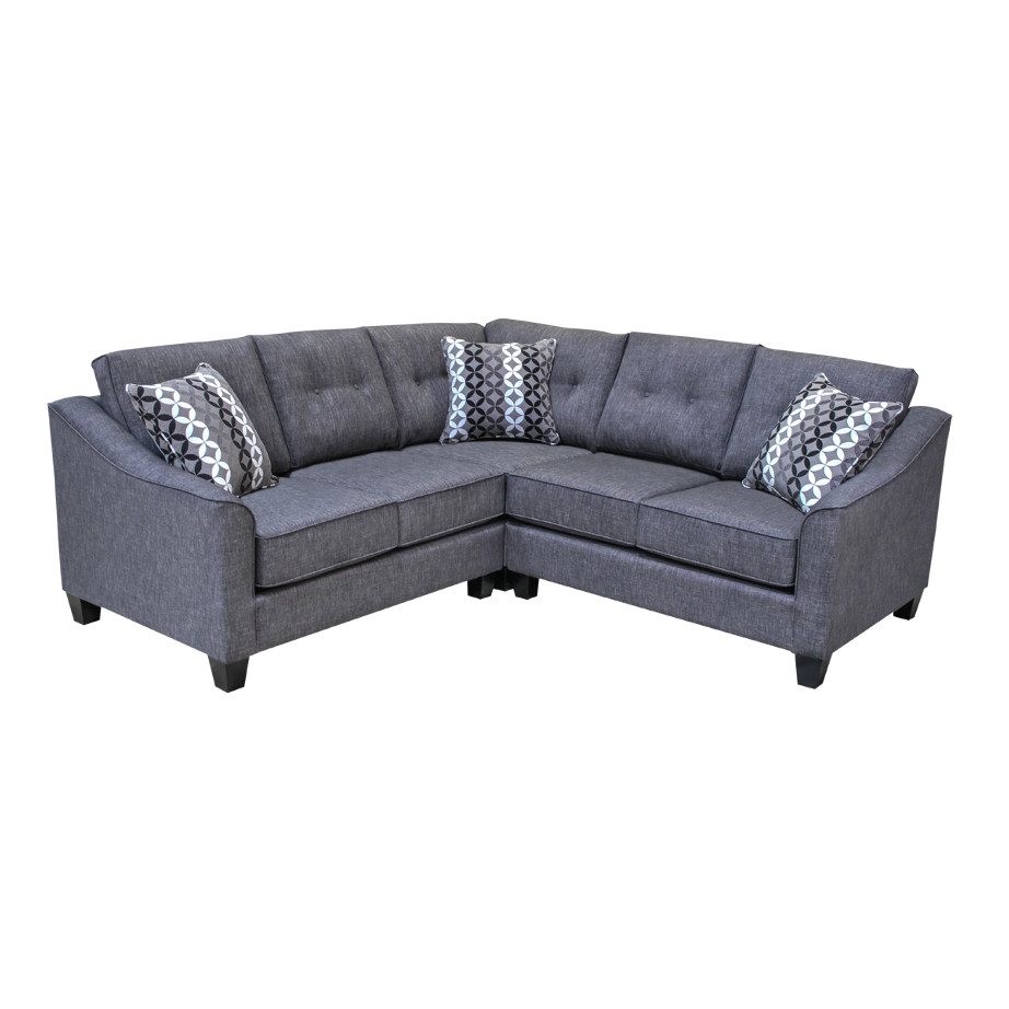 elite sofa designs, custom sectional, made in canada, canadian made furniture, custom sofa, fabric sectional, cambie sectional