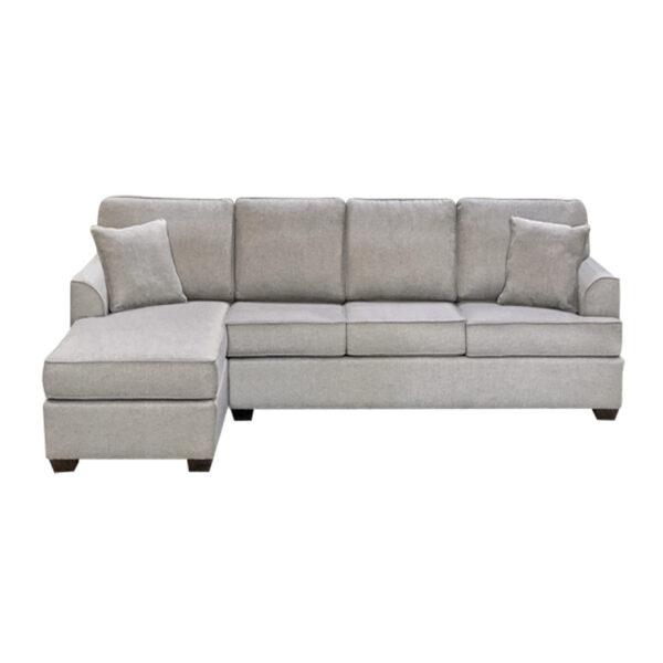 custom length denver sofa with chaise by elite sofa designs