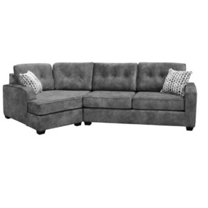 custom sofa, sofa with chaise, made in canada, elite sofa designs, canadian made furniture, havana cuddle sofa