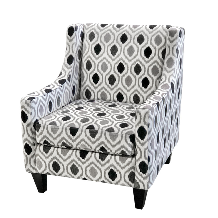 Stupendous Leo Accent Chair Home Envy Furnishings Canadian Made Short Links Chair Design For Home Short Linksinfo