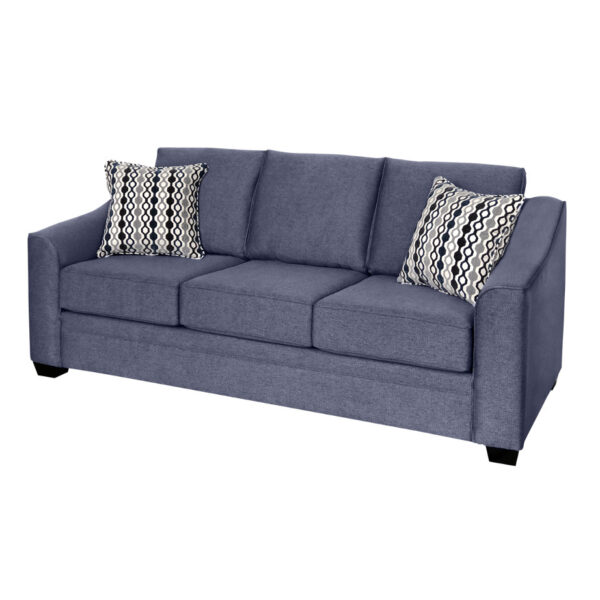 edmonton furniture store, edmonton furniture stores, , custom sofa, fraser sofa, made in canada, sloped arm sofa