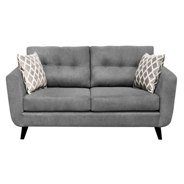 canadian made tilbury sofa with modern design in custom fabric