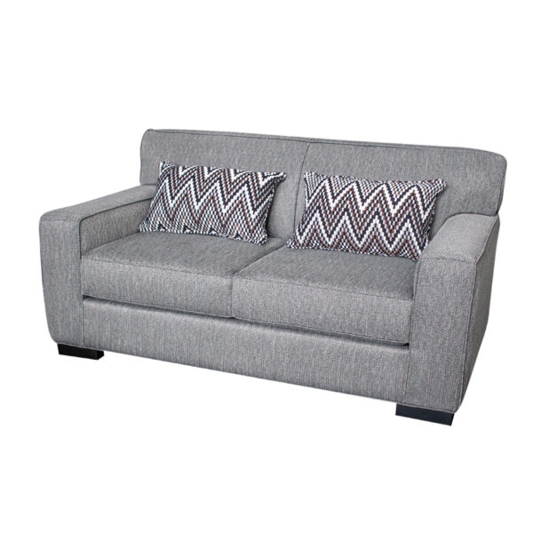 edmonton furniture store, edmonton furniture stores, Arsenio Love Seat, elite sofa designs, love seat, custom sofa, condo sized