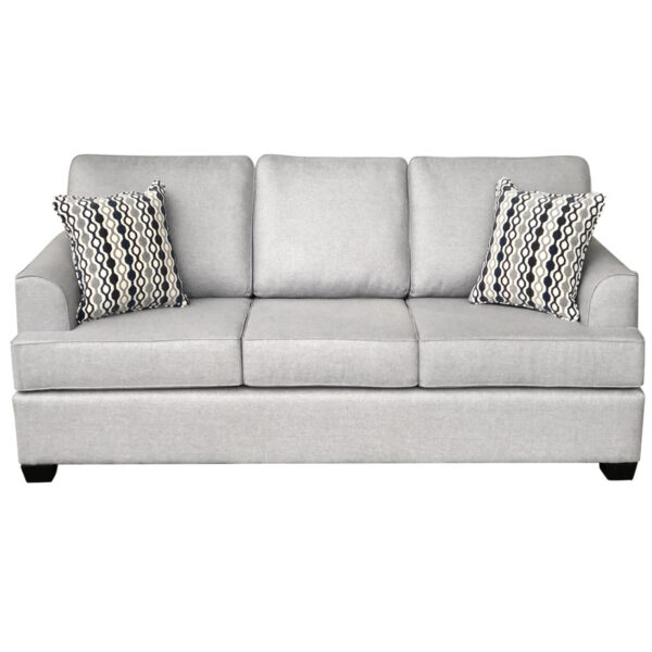 denver sofa by elite sofa designs shown from front view