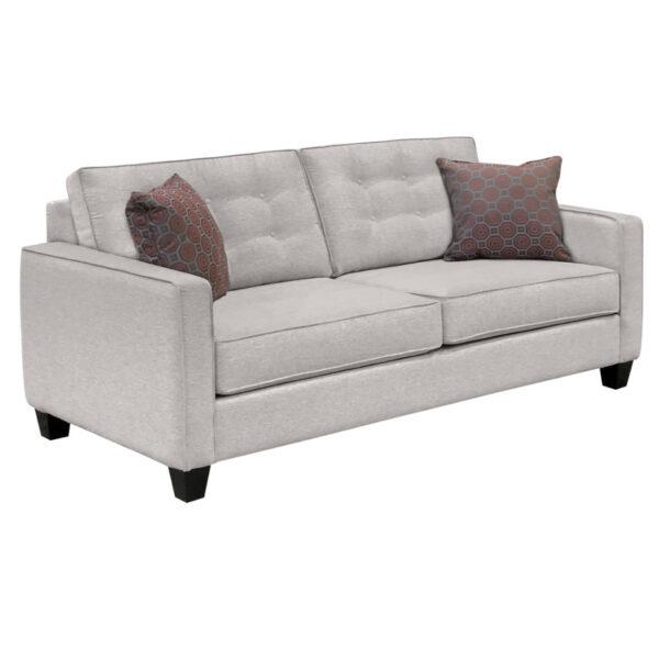 contemporary sofa design lincoln sofa with tufted back