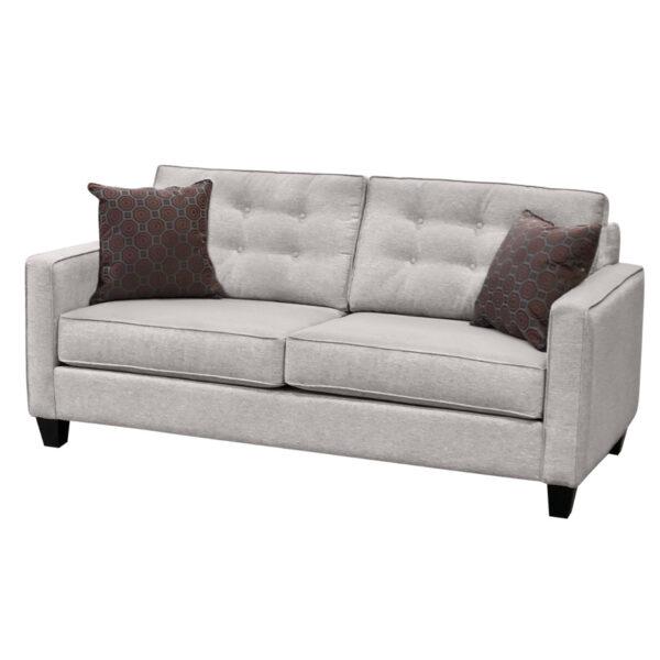 canadian made lincoln sofa in modern custom fabric