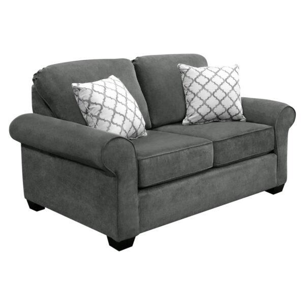 edmonton furniture store, edmonton furniture stores, elite sofa designs, love seat, custom sofa, condo sized, valmont love seat