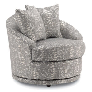 allana swivel chair in popular round cuddle nest chair design