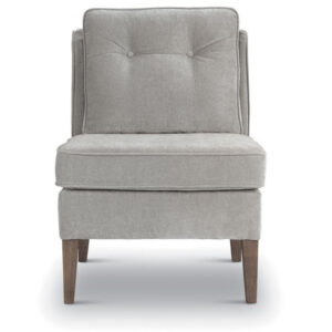 best home furnishings blayr accent chair with modern armless design