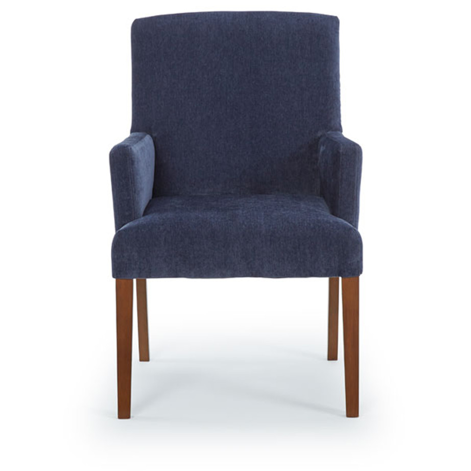 Denai Parsons Arm Chair Home Envy Furnishings Solid
