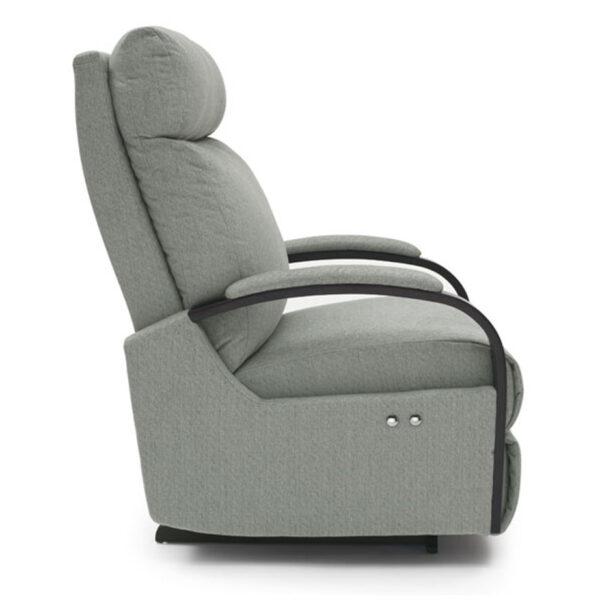 small recliner, custom recliner, power recliner, motion furniture, best home furnishings, modern, kinetix recliner