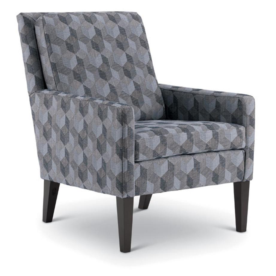 Custom Fabric Accent Chairs.Leigha Chair Home Envy Furnishings Custom Made Furniture Store