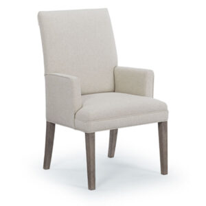 modern fabric nonte parsons arm chair