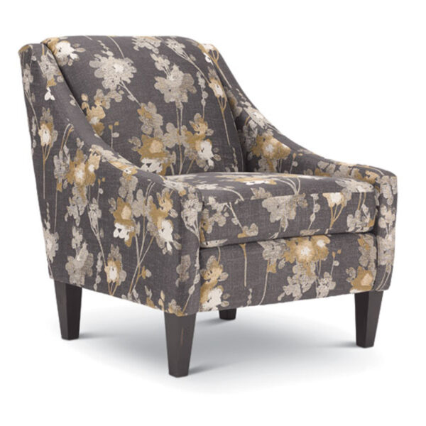 best home furnishings, custom accent chair, living room chair, regan chair chair
