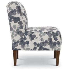 best home furnishings, custom accent chair, living room chair, rolan slip chair