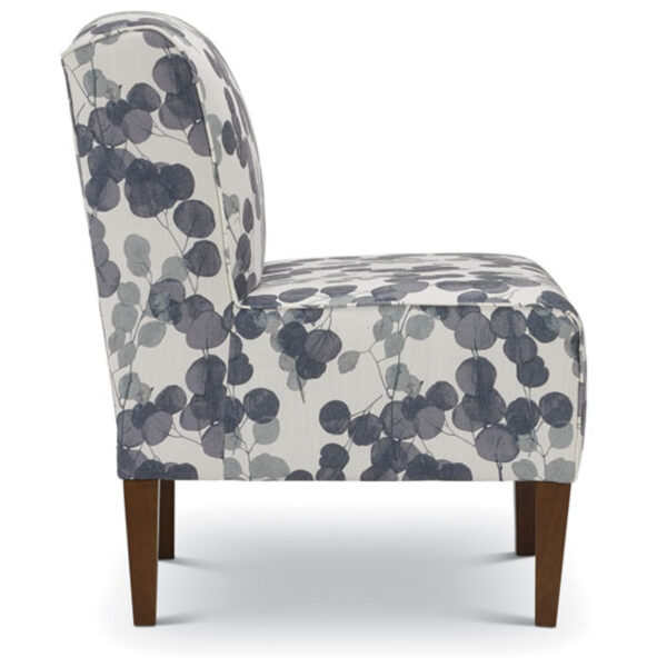 best home furnishings, custom accent chair, living room chair, rolan slip chair