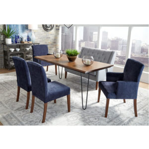 best home furnishings, bench, dining table, entry bench, settee, tomey bench