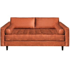 canadian made angela sofa in modern fabric option
