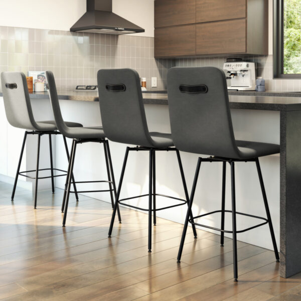 bar stools, counter stools, bar stool, counter stool, swivel stool, island stool, kitchen stools, made in canada furniture, swivel stools, furniture store edmonton, furniture stores edmonton, custom built furniture, custom stool, bray stool