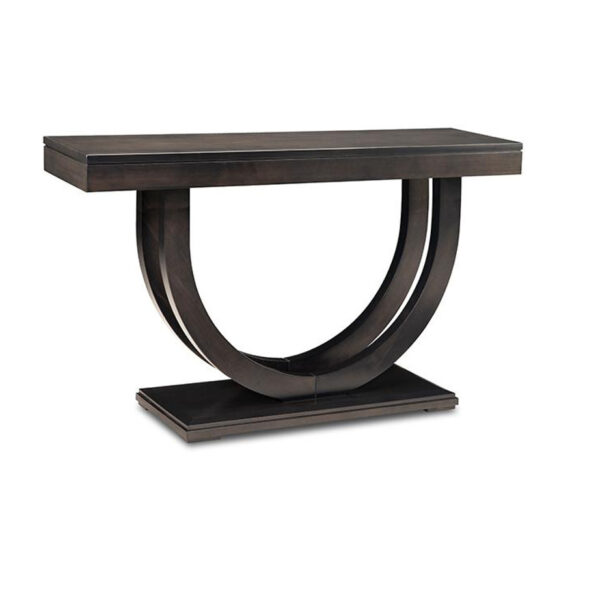 contempo pedestal console table, solid wood table, console table, sofa table, rustic console table, rustic sofa table, modern sofa table, handstone furniture, made in canada, custom furniture, custom built furniture, edmonton furniture store, edmonton furniture stores