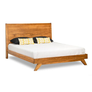 mid century modern bedroom furniture, upholstered bed, made in canada furniture, solid wood furniture, modern bedroom furniture, furniture store, edmonton furniture store, edmonton furniture stores, tribeca bed