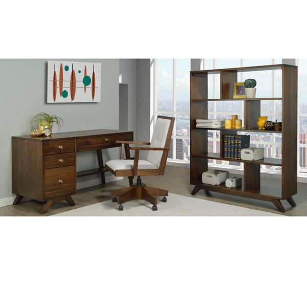 tribeca home office, solid wood furniture, rustic furniture, mid century modern furniture, edmonton furniture, edmonton furniture stores
