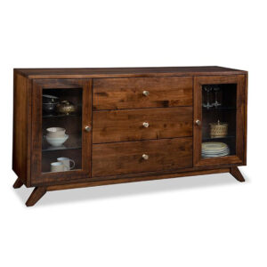 handstone furniture, solid wood furniture, furniture made in canada, mid century modern furniture, modern furniture, rustic furniture, edmonton furniture, edmonton furniture stores, furniture stores edmonton, solid wood dining room furniture, tribeca large display sideboard
