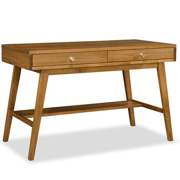 tribeca writing desk, modern furniture, mid century modern furniture, made in canada furniture, solid wood furniture, edmonton furniture