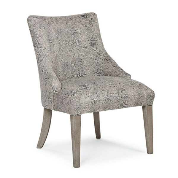 best home furnishings, parsons dining chair, upholstered parsons chair, edmonton furniture store, elie dining chair