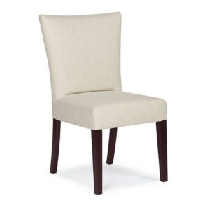 custom fabric jazla dining chair with full upholstery back and seat