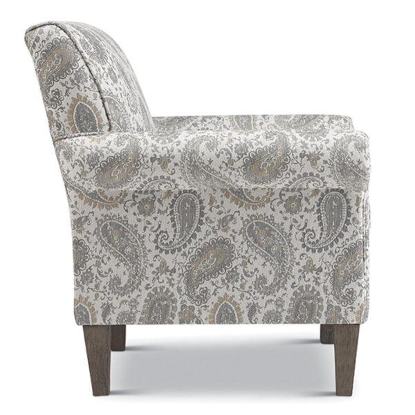 best home furnishings, accent chair, modern chair, club chair, custom build chair, edmonton furniture, mcbride accent chair