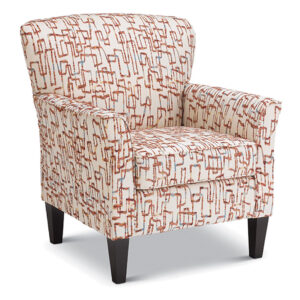 best home furnishings, accent chair, modern chair, club chair, custom build chair, edmonton furniture, sadie accent chair