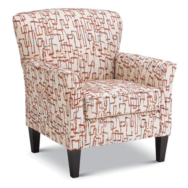 best home furnishings, accent chair, modern chair, club chair, custom build chair, edmonton furniture, sadie accent chair