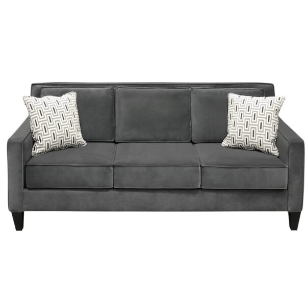 classic design vellevue sofa with modern narrow arms