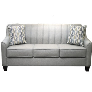 chanel straight sofa with modern channel back design