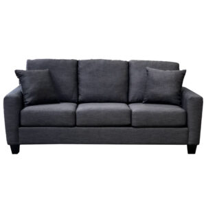 canadian made courtenay sofa with 3 seats in custom upholstery