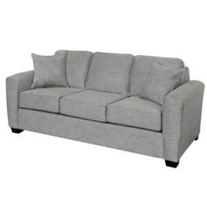 holyfield sofa with 3 seats in modern design with square track arms