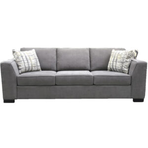 canadian made tommy sofa in long length with wide arms