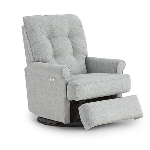 carissa recliner, swivel recliner, swivel glider, power recliner, custom recliner, home furniture store
